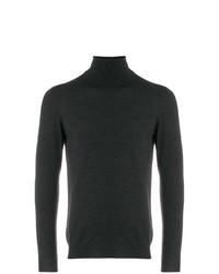 Мужская темно-серая водолазка от Zanone
