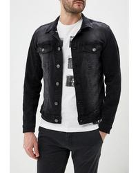 Мужская темно-серая джинсовая куртка от BLEND