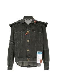 Мужская темно-серая джинсовая куртка от Maison Mihara Yasuhiro