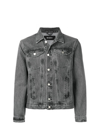 Мужская темно-серая джинсовая куртка от Misbhv