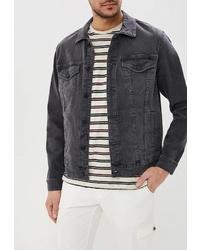 Мужская темно-серая джинсовая куртка от ONLY & SONS