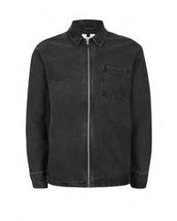 Мужская темно-серая джинсовая куртка от Topman