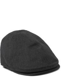 """Мужская темно-серая кепка с узором """"в ёлочку"""" от Dolce & Gabbana"""