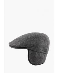 Мужская темно-серая кепка от Herman