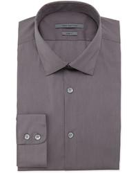 Темно-серая классическая рубашка