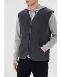 Мужская темно-серая куртка без рукавов от Holty