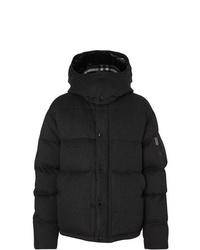 Мужская темно-серая куртка-пуховик от Burberry