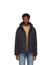 Мужская темно-серая куртка-пуховик от Canada Goose