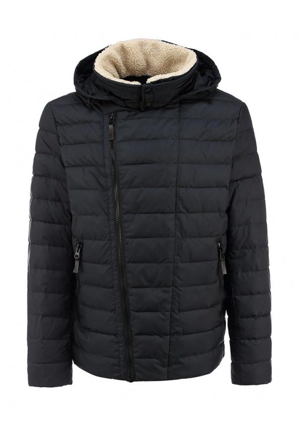 b90306ebf187 Мужская темно-серая куртка-пуховик от Clasna   Где купить и с чем носить