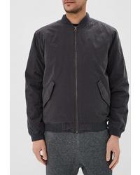 Мужская темно-серая куртка-пуховик от Quiksilver