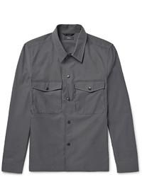 Темно-серая куртка-рубашка