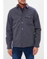 Мужская темно-серая куртка-рубашка от Quiksilver