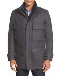 Темно-серая полевая куртка