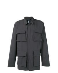 Темно-серая полевая куртка от adidas