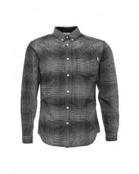 Мужская темно-серая рубашка с длинным рукавом от Jack & Jones