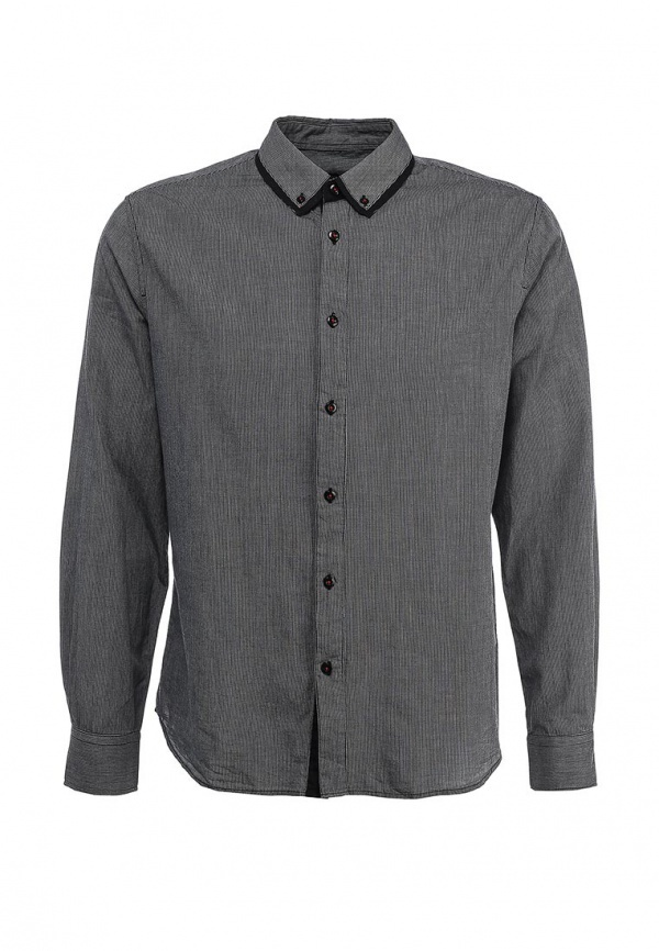bccf1849cee ... Мужская темно-серая рубашка с длинным рукавом от Tom Farr ...