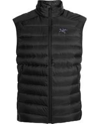 Мужская темно-серая стеганая куртка без рукавов от Arc'teryx
