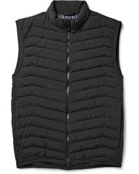 Мужская темно-серая стеганая куртка без рукавов от Theory
