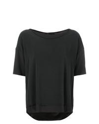 Женская темно-серая футболка с круглым вырезом от Kristensen Du Nord
