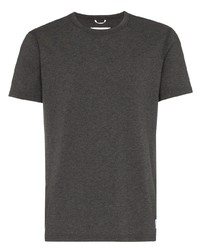 Мужская темно-серая футболка с круглым вырезом от Reigning Champ
