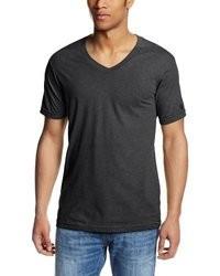 темно серая футболка с v образным вырезом original 2157603