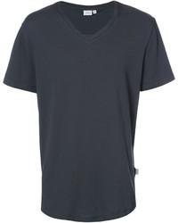 Мужская темно-серая футболка с v-образным вырезом от Onia