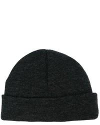 Мужская темно-серая шапка от AMI Alexandre Mattiussi