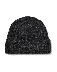 Женская темно-серая шапка от Johnstons of Elgin