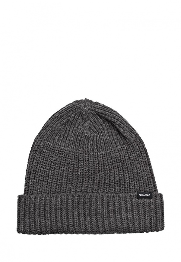 Мужская темно-серая шапка от Nixon