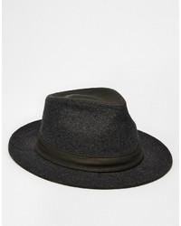 Мужская темно-серая шерстяная шляпа от Goorin Bros.