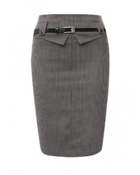 Темно-серая юбка от MadaM T