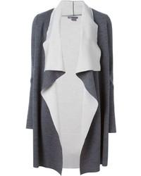Женское темно-серое вязаное пальто от Vince