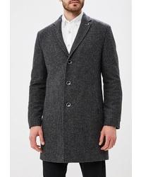 Темно-серое длинное пальто от Bazioni