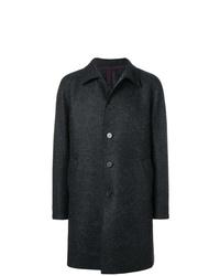 Темно-серое длинное пальто от Harris Wharf London