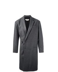 Темно-серое длинное пальто от Marni