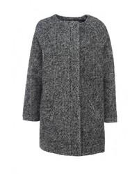 Женское темно-серое пальто от Aurora Firenze