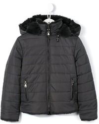 Детское темно-серое пальто для девочек от Tartine et Chocolat