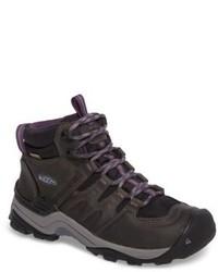темно серые ботинки на шнуровке original 11410103