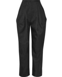 Темно-серые брюки-галифе