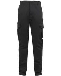 Темно-серые брюки карго