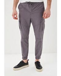 Темно-серые брюки карго от O'stin