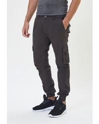 Темно-серые брюки карго от WHITNEY