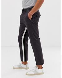 Темно-серые брюки чинос от ASOS DESIGN