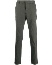 Темно-серые брюки чинос от Dondup