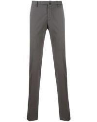 Темно-серые брюки чинос от Incotex