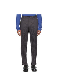Темно-серые брюки чинос от Issey Miyake Men