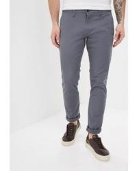 Темно-серые брюки чинос от Tom Farr