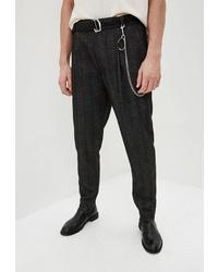 Темно-серые брюки чинос от Topman