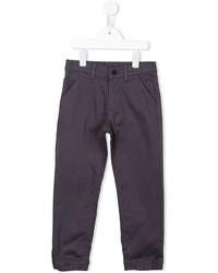 Детские темно-серые джинсы с принтом для мальчику от Kenzo
