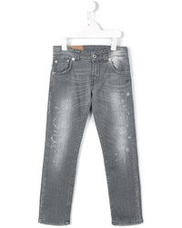 Детские темно-серые джинсы для мальчику